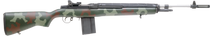 "Springfield M1A Super Match Semi-Auto 7.62 NATO 22"" Camo Synthetic Stock SS 10rd"