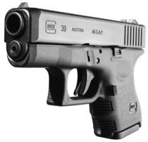 "Glock G39 .45 GAP 3.47"" Barrel Black Finish Fixed Sights Refurbished 6rd"