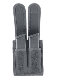 Uncle Mike's Double Mag Pouch Size 26-1, Glock 20/21, Black Nylon