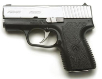 "Kahr Arms PM40 Standard DAO 40S&W, 3.1"" Barrel, Poly Grip Black Poly Frame/SS Slide, 6rd"
