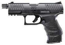 "Walther PPQ Tactical .22 L.R. 4"" Black 12 Round, Adapter (March), 1 Mag"