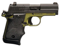 Sig P938 9MM Army Green, Night Sights 7 Rd Mag