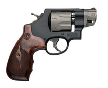 "Smith & Wesson 327 Performance Center 357 Mag/38 Spl 2"" Barrel 8rd Capacity, Wood Grip Black"
