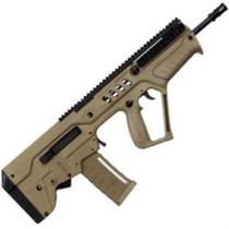 IWI TAVOR SAR Bullpup Rifle - Flattop 9mm Para, Flat Dark Earth Stock, 17 1:10 Barrel, 32rd Mag