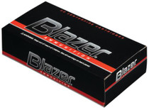 CCI Blazer .38 Special+P 158 Gr, Total Metal Jacket, Aluminum Case, 50rd/Box