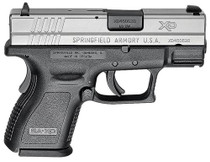"""Springfield XD Sub-Compact 40SW 3"""" Barrel Ultra Safety Assurance Trigger, SS Slide 9 Rd Mag"""