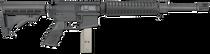 "Rock River Arms Mid Length A4 9mm Carbine LAR-9 AR-15 9mm 16"" Barrel, 6 Posption CAR Stock Black, 30rd"