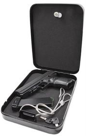 "Hi-Point Home Security Pack 40S&W Gun 4.5"" Barrel, Black Poly, Lockbox, 10rd"