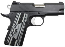 "Dan Wesson ECO 45 ACP, 3.5"" Barrel, Night Sights, G-10 Grips, 7rd Mag"
