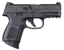 "FN FNS 40 Compact Double 40 S&W 3.6"" Barrel, Poly Grip Black, 14rd"