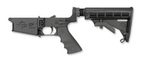 Rock River Arms LAR-8 Complete Lower, 2-Stage Trigger, Tactical CAR Stock, Black