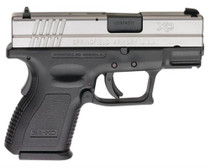"""Springfield XD 9mm, 3"""" Sub Compact, 2 Tone, 16 Rd Mag"""