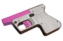 """Heizer PS1 Pocket Shotgun DAO .45LC/410 Ga, 3.5"""" Barrel, SS/Pink Barrel, 1rd"""