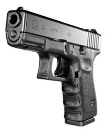 """Glock G32 Standard Double 357 Sig 4.01"""" Barrel, Black Polymer Grip/Frame, 13rd"""