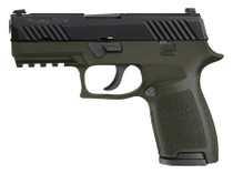 Sig 320C-40-TSS OD Green Frame 40 S&W Siglite Night Sights 13rd Mags