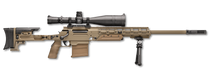 "FN Ballista .338 Lapua, 26"" Barrel, Caliber Convertible, Flat Dark Earth, Ambi Folding Stock"
