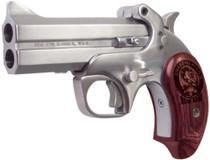 """Bond Arms Snake Slayer IV .45 Colt/410 4.25"""" Barrel SS Satin Finish Extended Rosewood Grips 2 Shot"""