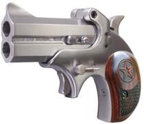 "Bond Arms Cowboy Defender 410/45LC 3"" 2rd Lam Rosewood Grip Satin SS"