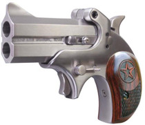"Bond Arms Cowboy Defender 357 RemMag 3"" 2rd Lam Rosewood Grip SS"