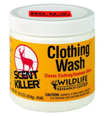 Wildlife Research Scent Killer Clothing Wash, Eliminates Odors, 16oz