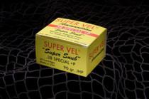 Super Vel .38 Special +P 90 Grain 20rd/Box
