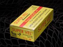 Super Vel 9MM +P 115 Grain 50rd/Box