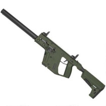"Kriss Vector Gen II Carbine 9mm, 16"", Defiance M4 Stock, OD Green, 17 rd"