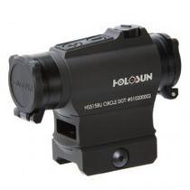 Holosun 515BU 2 MOA/65 MOA QD, Killflash, Shake Awake, Flip Caps Red Dot Sight