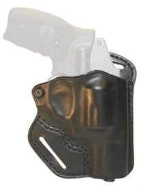 Blackhawk CQC Leather Check-Six Holster Black Right Hand For Smith & Wesson J Frame
