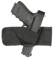 Blackhawk Compact Belt Slide Holster Black Ambidextrous For .22 and .25 Autos and Very Small Frame .380's