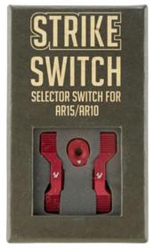 Strike AR Strike Switch Steel/Aluminum, Red