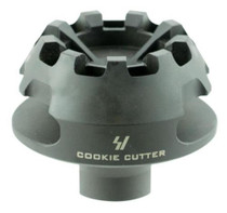 "Strike Cookie Cutter Compensator 223 Remington/5.56 NATO, Steel 2.1"" OD, 5/8x28"