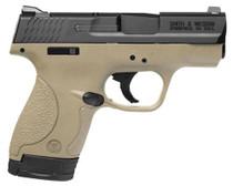 "Smith & Wesson M&P Shield 40SW 3"" Barrel Flat Dark Earth Finish 6rd & 7rd Mag"