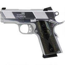 "Iver Johnson Thrasher 1911, 45 ACP, 3"" Bull Barrel, Chrome Finish 7rd Mag"