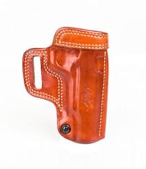Kimber 1911 5-inch Avenger holster tan leather tension screw Kimber logo