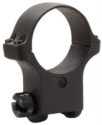 Ruger Clam Pack Single Ring Extra High 30mm Diam Hawkeye Matte Blued