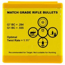 Berger Bullets Target 185gr, 100 Box