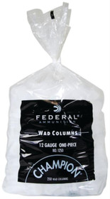 Federal Champion Wads 12 Ga, 1oz, Gold Medal Target, 250rd/Bag