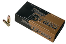 CCI 9mm Blazer Brass 115gr, Full Metal Jacket Round Nose, 350rd Box