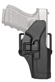 Blackhawk! Cqc Carbon Fiber Serpa Active Retention Holster Matte Black Right Hand For H&K P-30