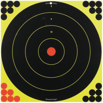 "Birchwood Casey Shoot-N-C Targets 17.25"" Bullseye, 12 Targets, 288 Pasters"