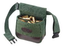 Allen Double Compartment Canvas Shooter's Bag, Belt Green