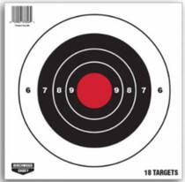 """Birchwood Casey Target 8"""" Paper Pistol, 18/Pack"""