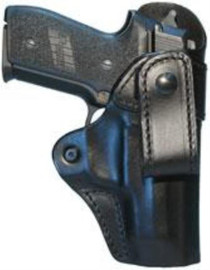 Blackhawk! In the Pants Holster SIG 220/226, Black Leather, Right Hand