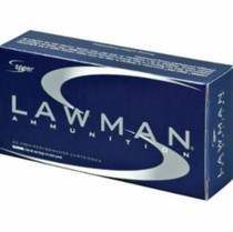 CCI Lawman 9mm 124gr, Total Metal Jacket 50rd/Box