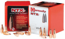 Hornady Lead Free Rifle Bullet .20 Caliber .204 Diameter 24gr, NTX, 100/Box