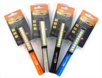 "Promier LED Pocket Flashlight Penlight, 9 LEDs, Magnetic Clip, 220 Lumens, 6.5"" OAL"