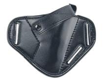 Uncle Mike's Mirage Belt Slide Holster 16, Black Laminate