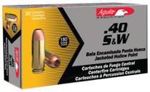 Aguila .40 S&W 180gr, FMJ, 50rd/Box