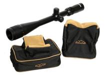 Tasco 6-24x40 Varmint Scope, Set of Shooting bags